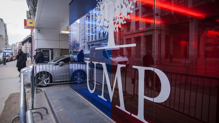 Le siège de l'UMP dans le 15e arrondissement, à Paris, le 3 février 2015. (VALENTINA CAMOZZA / CITIZENSIDE / AFP)