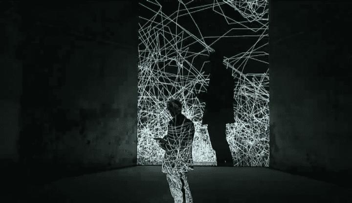Installation interactive de l'artiste allemand Philipp Artus  (Culturebox - capture d'écran)