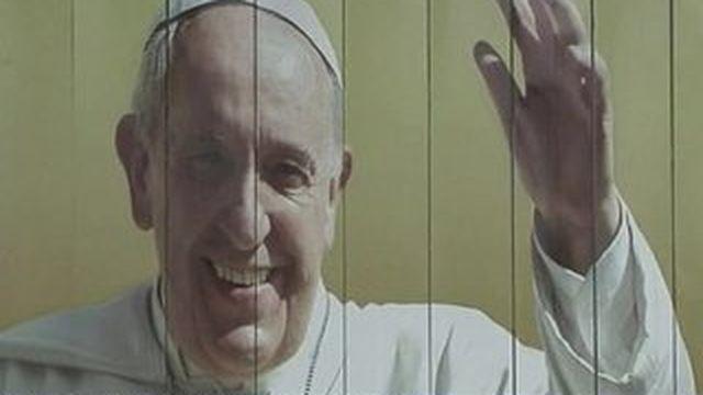 Le pape François en visite à Cuba