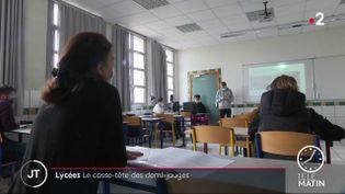Dans un lycée de l'Aisne. (France 2)