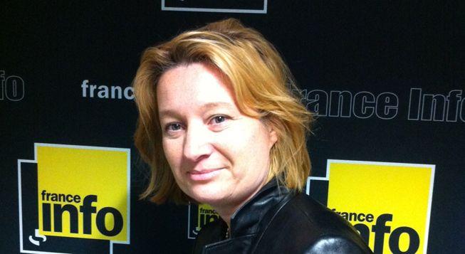 (Isabelle Bordry, tête de liste de Nous citoyens en Ile-de-France © Radio France - Laetitia Heuveline)