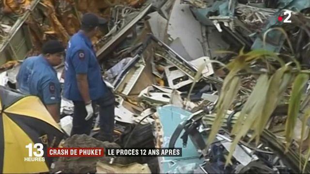 Crash de Phuket : le procès s'ouvre à Paris, 12 ans après le drame
