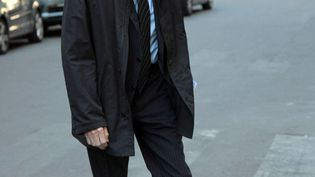 L'ancien directeur des programmes de TF1, Etienne Mougeotte, le 21 septembre 2008, à Paris. (JACQUES DEMARTHON / AFP)