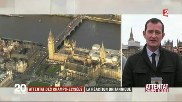Attentat sur les Champs-Élysées : la réaction des Britanniques