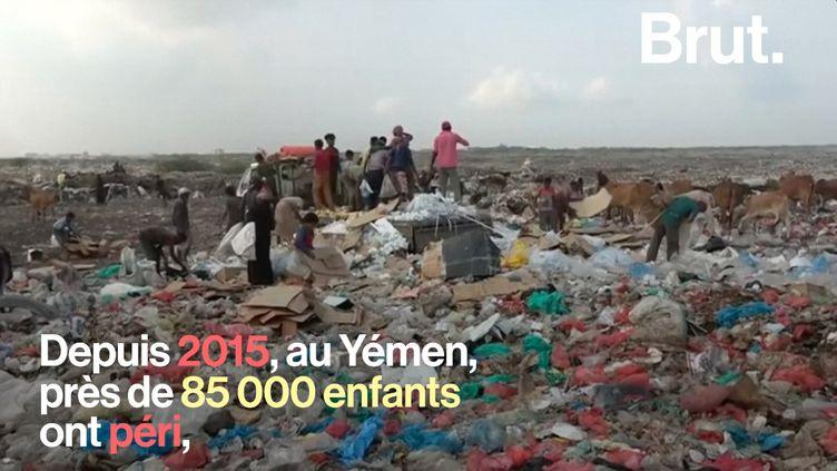 Dans le monde, 1 enfant sur 5 réside dans un pays en guerre. Nombreux sont ceux qui succombent à ces environnements hostiles. (BRUT)