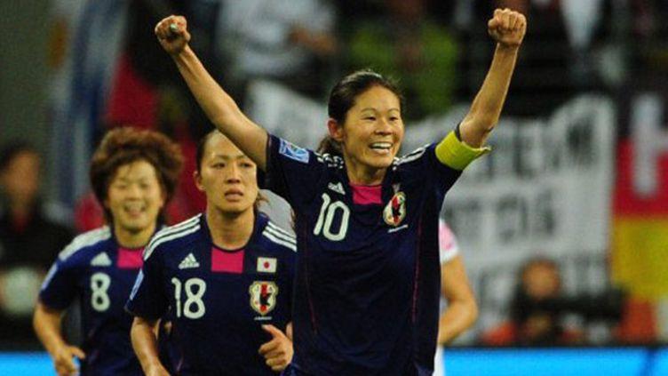 Le bonheur des Japonaises et de leur capitaine Sawa