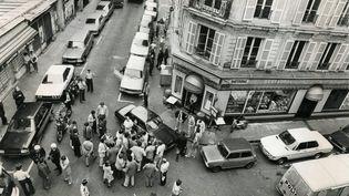 La fusillade a eu lieu le 9 août 1982 à Paris. (THIERRY BESNIER / MAXPPP)