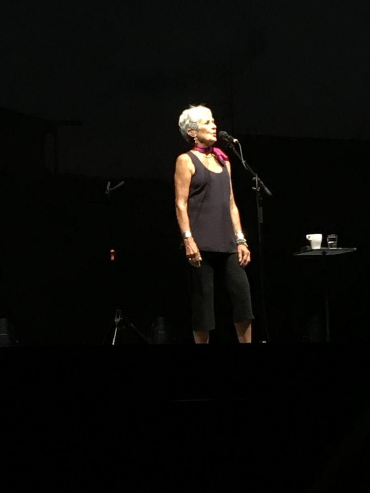 Joan Baez à Vienne le 21 juillet 2019 (Jean-François Convert)