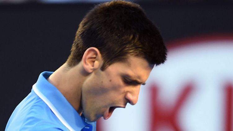 Le Serbe Novak Djokovic