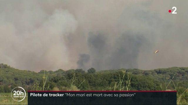 """Incendies : hommage à Franck Chesneau, pilote de tracker """"mort avec sa passion"""""""