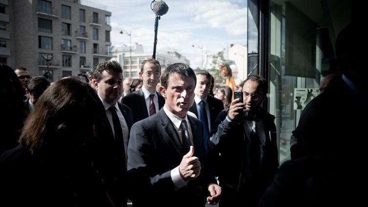 Manuel Valls à Paris, en mai 2015. (NICOLAS MESSYASZ/SIPA)