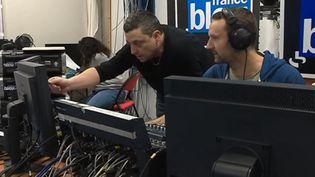 La station France Bleu Isère, frappée par un incendie criminel, a pu compter sur les locaux de France 3 afin de reprendre ses programmes mardi 29 janvier (CAPTURE D'ÉCRAN FRANCE 3)