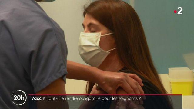 Covid-19 : les soignants pourraient-il être contraints de se faire vacciner ?