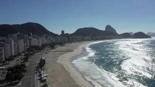 La plus grande ville du Brésil est à l'arrêt depuis six semaines de confinement pour cause d'épidémie de coronavirus. (FRANCE 2)