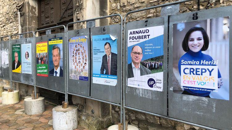 L'absention a été record au premier tour des municipales 2020 à Crépy-en-Valois, 62%. (MATTHIEU MONDOLONI / FRANCEINFO)