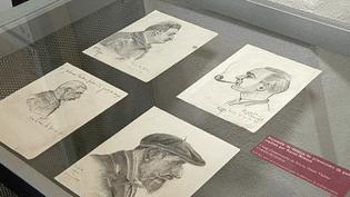 """Dessins d'un détenu de camp nazi pour """"Résister par l'art et la littérature""""  (France3/Culturebox)"""