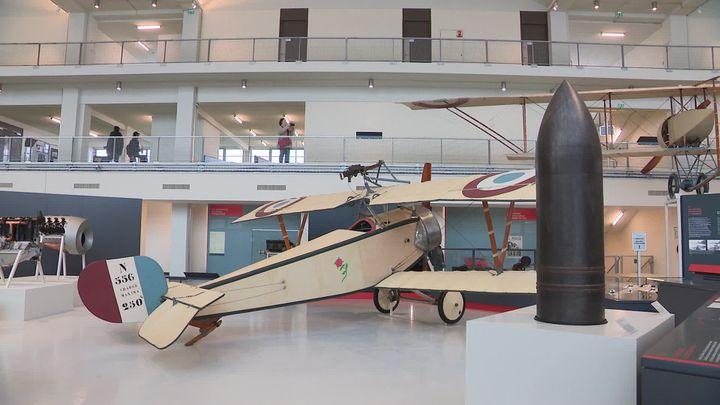 Avion de la première guerre mondiale (A.Joudi /France télévisions)