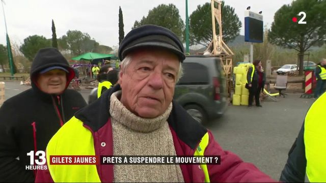 """""""Gilets jaunes"""" : sont-ils prêts à suspendre le mouvement ?"""