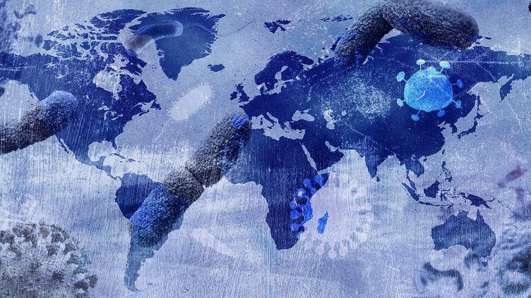Dans l'histoire, les épidémies se sont terminées de plusieurs manières différentes et certaines n'ont pas encore de fin. (AWA SANE / FRANCEINFO)