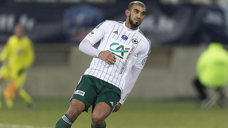 Hameur Bouazza (Red Star) (ERIC BALEDENT / MAXPPP)