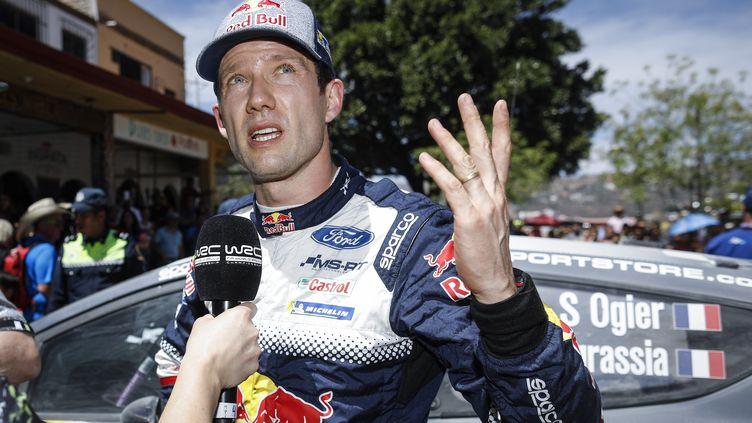 Sébastien Ogier très satisfait de sa course au Mexique (FRANCOIS FLAMAND / DPPI MEDIA)