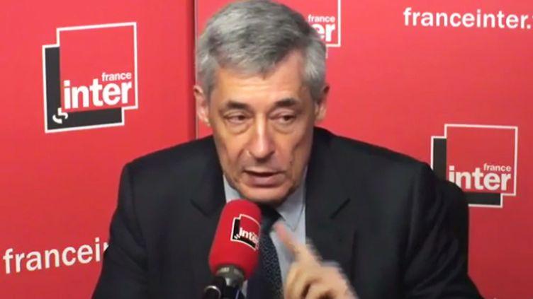 (Henri Guaino lundi matin sur France inter © Radio France)