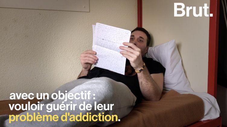 VIDEO. Incarcérés, Sylvain et Montgomery ont intégré l'URUD pour enrayer leurs addictions (BRUT)