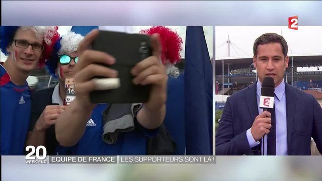 Euro 2016 : de nombreux supporters français présents au Stade de France
