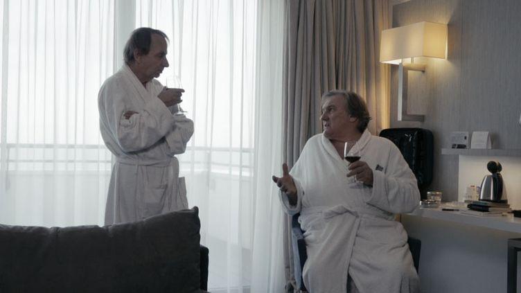 """Michel Houellebecq et Gérad Depardieu dans """"Thalasso"""" de Guillaume Nicloux (Wild Bunch Distribution)"""