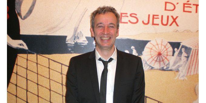 """Laurent de Wilde après son """"Jazz à Roland-Garros"""" (6 juin 2012)  (Annie Yanbékian)"""