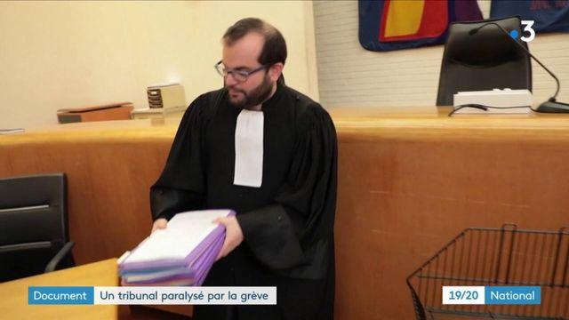 Justice : avec la grève des avocats, le tribunal d'Évry tourne au ralenti