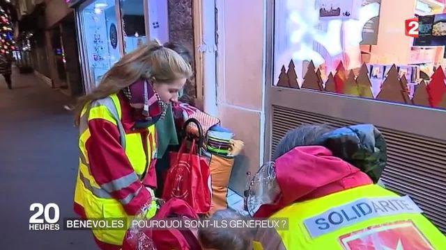 Pendant les fêtes, les bénévoles se mobilisent pour les SDF