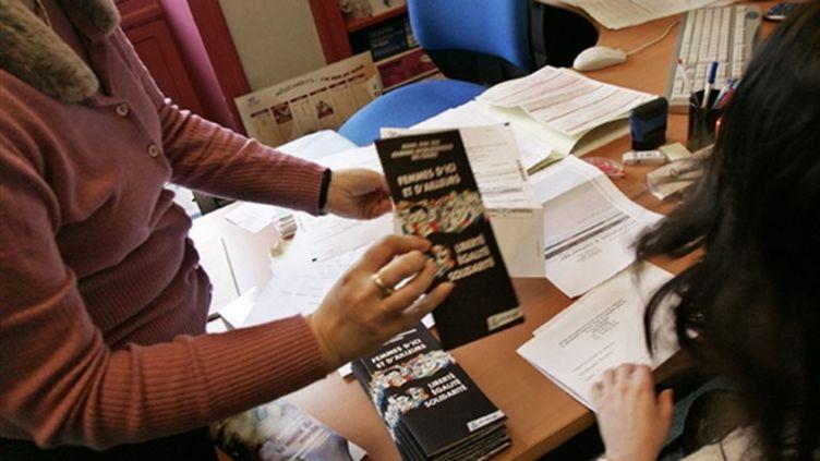 Au Mouvement français pour le Planning familial de Rennes... (AFP/FRED DUFOUR)