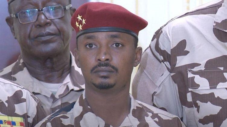 Le géneral Mahamat Idriss Déby, fils du président du TchadIdriss Déby, tué le 20 avril 2021.  (CHADIAN PRESIDENCY / ANADOLU AGENCY / AFP)