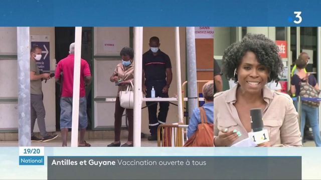 Covid-19 : la vaccination ouverte à tous dans les Antilles et en Guadeloupe