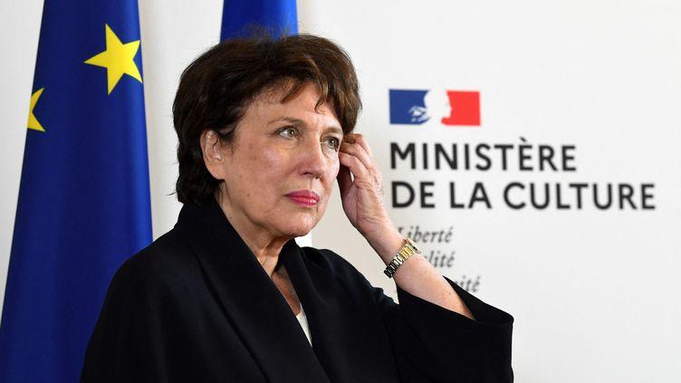 La ministre de la culture Roselyne Bachelot en 2020. (ALAIN JOCARD / AFP)