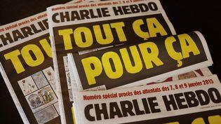 """La une du journal """"Charlie Hebdo"""", paru le 2 septembre 2020. (AFP)"""