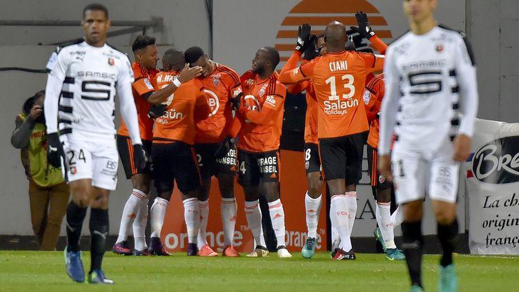 Après deux mois sans gagner, Lorient retrouve la victoire (LOIC VENANCE / AFP)