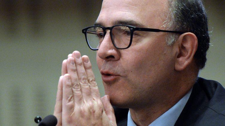 Pierre Moscovici le 4 avril 2013 (PATRICK HERTZOG / AFP)