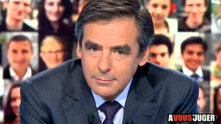 """François Fillon dans """"A vous de juger"""""""