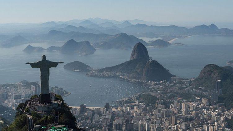 Au pied du Corcovado et du Pain de Sucre, la baie de Rio où se dérouleront des épreuves olympiques en 2016
