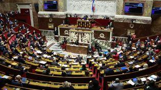 L'Assemblée nationale, le 12 janvier 2021. (QUENTIN DE GROEVE / HANS LUCAS VIA AFP)
