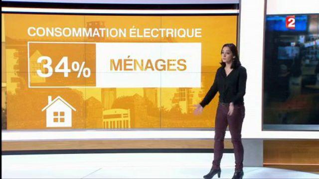 Les ménages, champions de la consommation d'électricité
