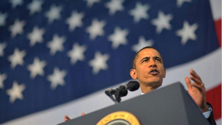 Barack Obama à Jacksonville, en Floride (archives). (AFP - Mandel Ngan)