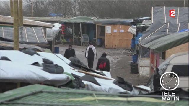 """Calais : la """"jungle"""" va se vider"""