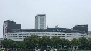 La Maison de la radio (siège de Radio France), dans le 16e arrondissement à Paris. (NOÉMIE BONNIN / RADIO FRANCE)