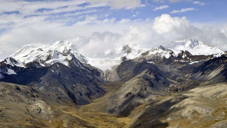 Les Andes, en Bolivie, en mai 2013. (Photo d'illustration) (AIZAR RALDES / AFP)
