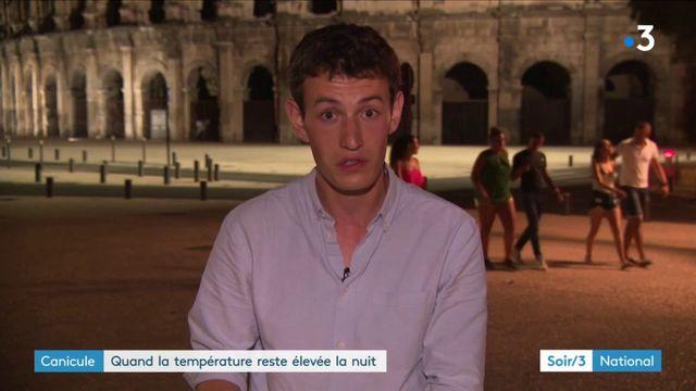 Canicule : la température ne baisse pas la nuit