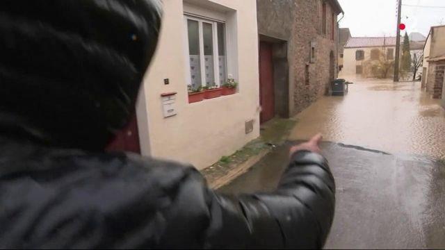 Tempête Gloria : l'Aude à nouveau sous les eaux