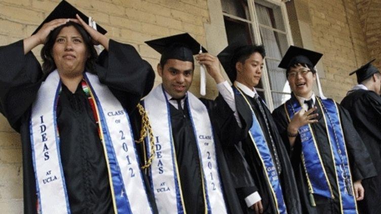 A peine diplômés, certains Américains n'hésitent pas à se lancer dans la création d'entreprises. (Reuters/Jonathan Alcorn)
